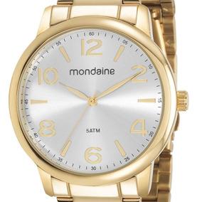 Relógio Mondaine Feminino 53736lpmgde1 Dourado + Nfe
