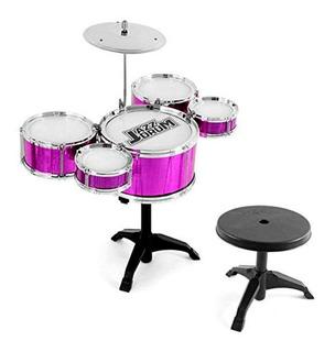 Batería Juguete Grande Niñas Rachel Big Band 5 Tambores