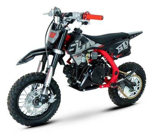 Imagem 1 de 7 de Mini Moto Cross Laminha 60cc