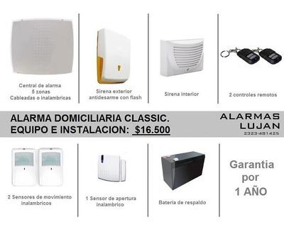Alarma Domiciliaria Classic