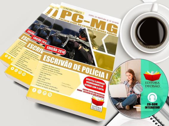 Polícia Civil De Minas Gerais - Escrivão De Polícia 2018