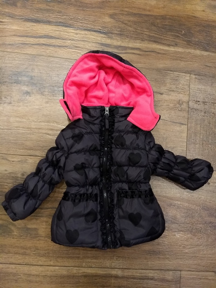 Jaqueta Nova Forrada Inverno Bebê Menina Importada