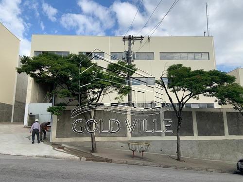 Imagem 1 de 5 de Ga4886- Alugar Galpão No Taboão Da Serra Com 3.607 Metros De Terreno, 2.486 Metros De Galpão, 1.925 Metros De Área Fabril, 561 Metros De Escritório - Ga4886 - 69309737