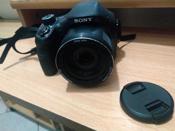 Cámara Sony Compacta Dsc-h400 Com Zoom Óptico De 63x