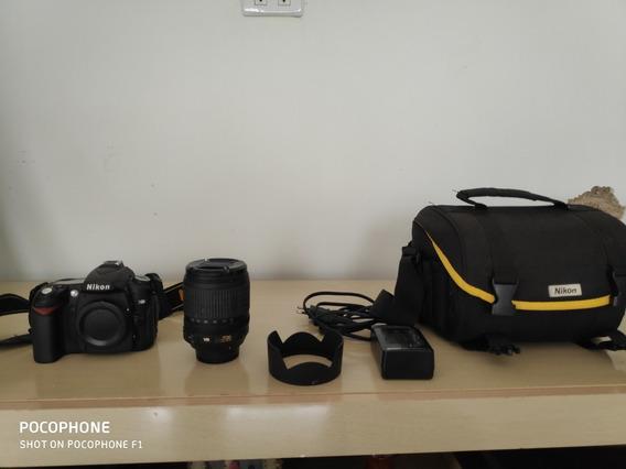 Camera Nikon D90 Com Acessórios
