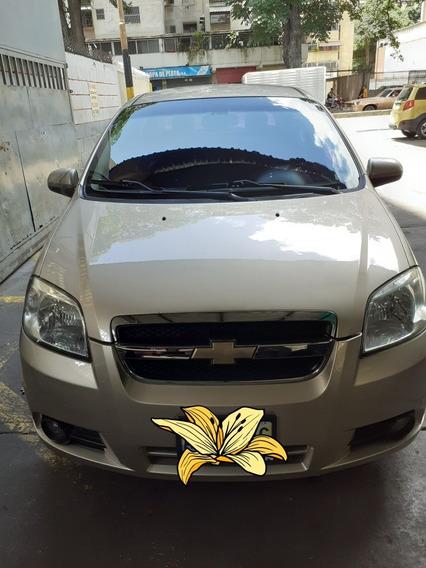 Chevrolet Aveo Lt 2012 / 5 Puertas.