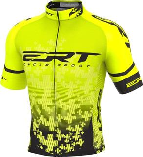 Camisa Ert Elite Team Amarelo 2020 Ciclismo Mtb Bike