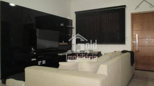 Casa Com 3 Dormitórios À Venda, 160 M² Por R$ 520.000 - Nova Ribeirânia - Ribeirão Preto/sp - Ca1203
