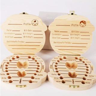 Caja Organizador Porta Dientes Leche Cordon Pelo Niño Bebe