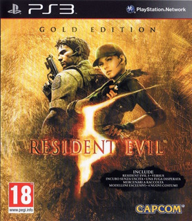 Resident Evil 5 Gold Edition Ps3 Fisico Nuevo Hobbystore