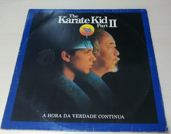 Disco De Vinil Karate Kid Parte 2