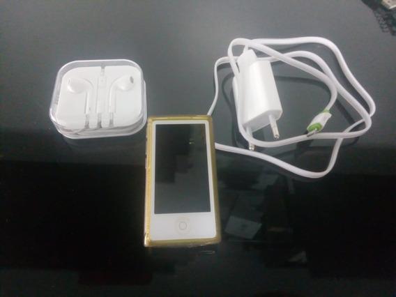 iPod Nano 7th 16gb Amarelo Md476ll Perfeito Estado