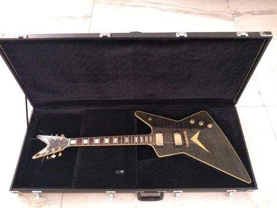 Dean Z (explorer) Guitarra Electrica Black And Gold