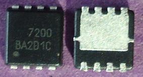 10 X Ci Aon7200 Mosfet N-channel Aon 7200 30v 40a Qfn 8
