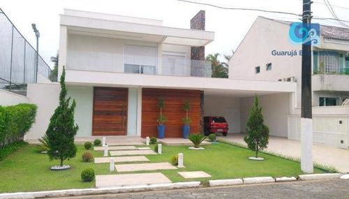 Imagem 1 de 30 de Casa Com 6 Dormitórios À Venda, 490 M² Por R$ 3.200.000 - Acapulco - Guarujá/sp - Ca1820