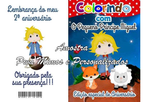 20 Revista 10x14 Colorir + Giz Personalizado Qualquer Tema.