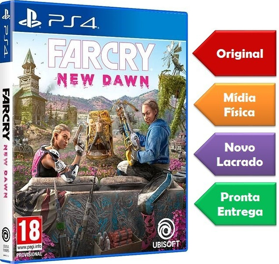 Far Cry New Dawn Ps4 Mídia Física Lacrado Pronta Entrega