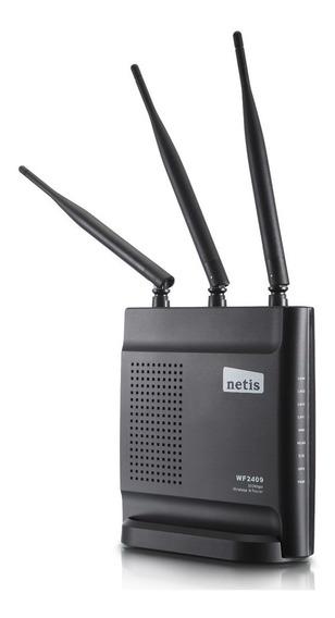 Router Wifi Netis Wf2409 Simil Tp-link Wr840n 300mbps