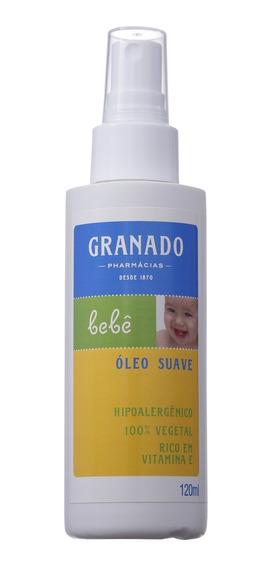 Granado Bebê Tradicional Suave - Óleo Corporal 120ml