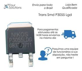 Transistor Smd P3055 Ldg - 10 Unidades