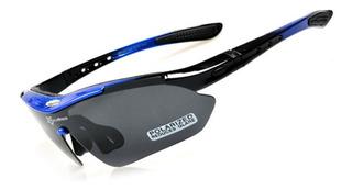 Promoción!! Kit De Gafas Ciclismo 5 Lentes - Rockbros