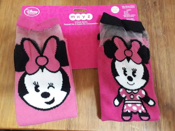 Medias De Minnie Con Tul - Originales Disney Store