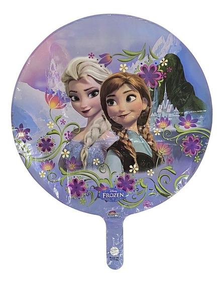 Globos Metalizado Frozen Ana Y Elsa Ciudad Cotillon