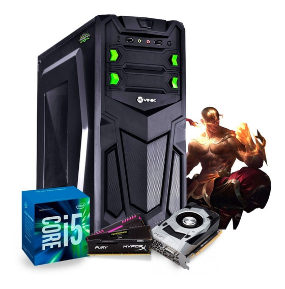 Pc Gamer Intel I5 7400 Gtx 1050ti 4gb Ssd 240gb 8gb Ddr4