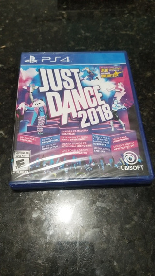 Just Dance Ps4 Mídia Física Lacrado