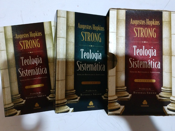 Kit 1 De Teologia (9 Volumes + Brinde)