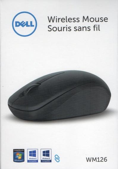 Mouse Wireless Wm126 Preto - Dell
