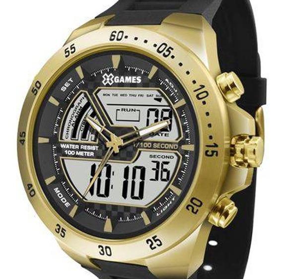 Relógio X-games Masculino Xmspa021 Bxpx C/ Garantia E Nf