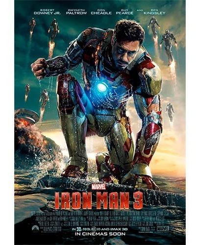 Película Digital Iron Man 1 2 3 Mp4