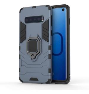 Funda Samsung S10 S10 Plus Case Rigida Con Anillo 360 + Envio