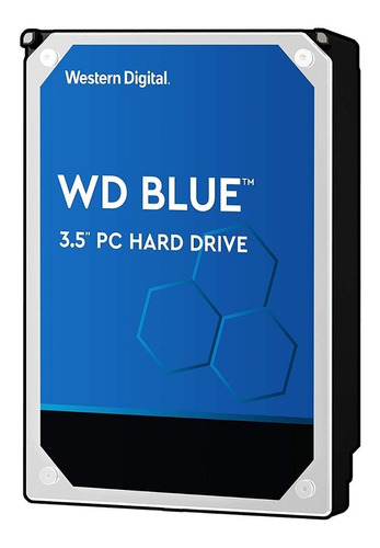 Disco Duro 1tb Sata 7200rpm Western Digital Blue 6gb/s 64mb