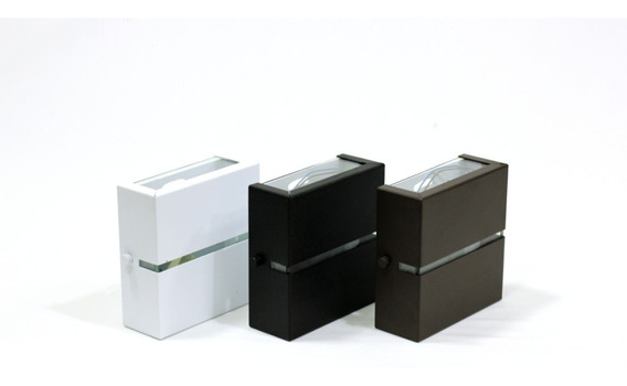 Arandela Slim 2 Focos Friso Externa Design