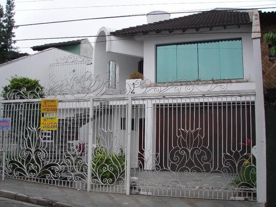 Sobrado Residencial À Venda, Jardim Do Mar, São Bernardo Do Campo. - So0318