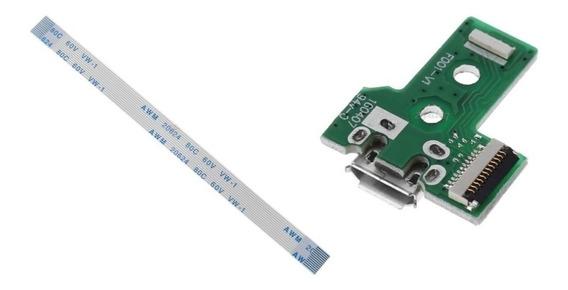 2 (unidade) Placa Usb Conector Controle Ps4 Jds-030 F001