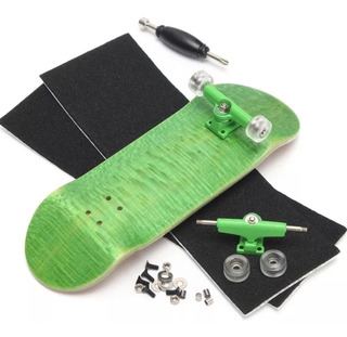 Fingerboard Profesional Madera 100mm Tipo Tech Deck Colores