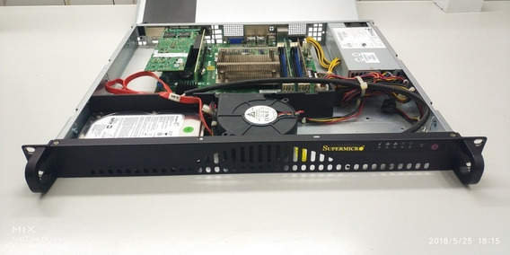 Servidor Supermicro 1u Pfsense Untangle Zabbix Linux