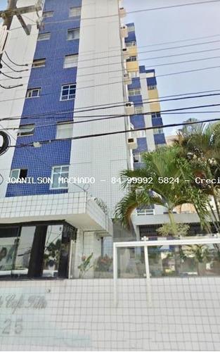 Imagem 1 de 10 de Apartamento Para Venda Em Natal, Petrópolis - Condomínio Ed. Pte Café Filho, 3 Dormitórios, 1 Suíte, 3 Banheiros, 2 Vagas - Ap1120-ed_2-935861