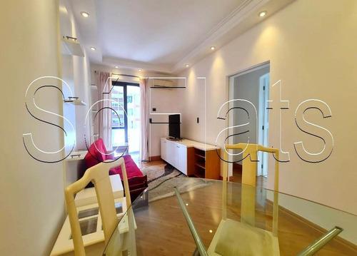Imagem 1 de 15 de Apartamento Com Serviços Nos Jardins Com 02 Dorms - Sf35082