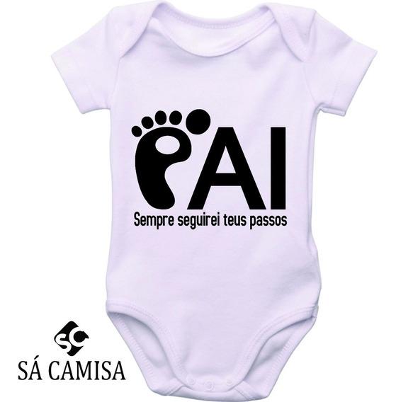 Body Infantil Personalizado Dia Dos Pais-ribana-estica