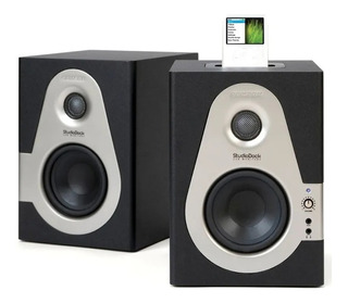 Samson Sd4i Studio Dock Par De Monitores Audio Campo Cercano