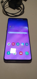 Celular Samsung Galaxy S10 Caja Accesorios + Buds! Impecable