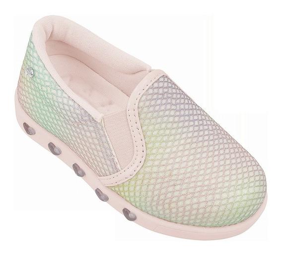 Pampili Tênis Infantil Sneaker Sereia 22 Ao 29 Verão 2020