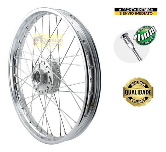 Aro Roda Dianteira Bros 125-150 Freio A Disco Raios 4mm