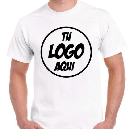 20 Remeras Personalizadas Estampada Sublimada Tu Logo 2 Lado