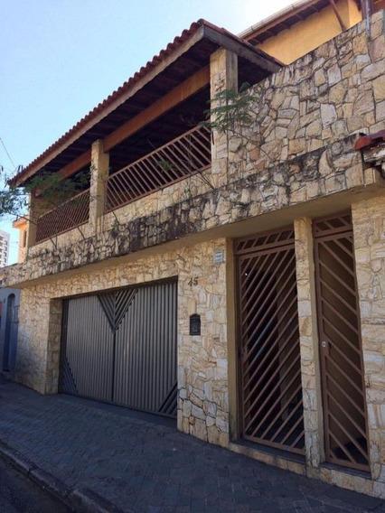 Sobrado Residencial À Venda, Vila Floresta, Santo André. - So0002