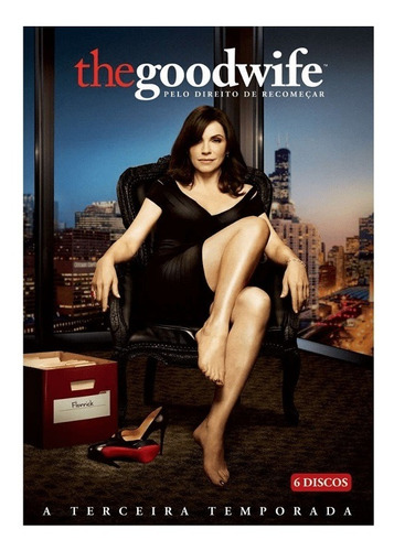 Dvd Box 6 Discos The Good Wife 3ª Temporada